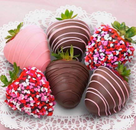 Chocolate Covered Strawberries - 8 Count