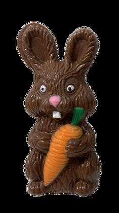 Solid Chocolate Half Easter Bunny