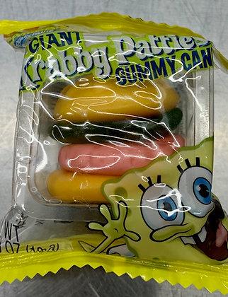 Krabby Patties Gummy Candy