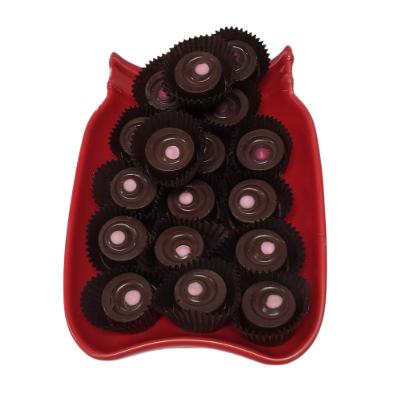 1/4 lb Dark Chocolate Raspberry