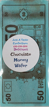 Money Wafer Candy - Filled with Chocolate