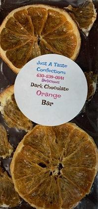 Dark Chocolate Orange Candy Bar