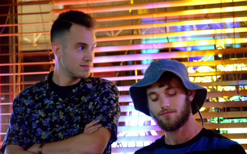 Comedians Sam Leonard & Alex Coyne