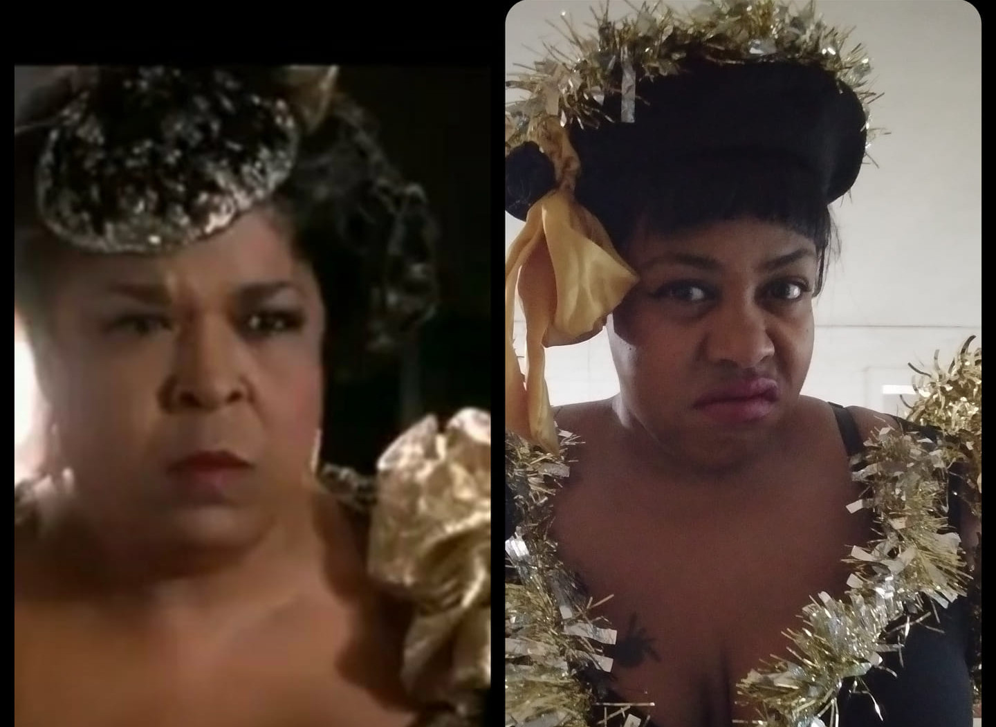 My Halloween Costume: Della Reese from Harlem Nights