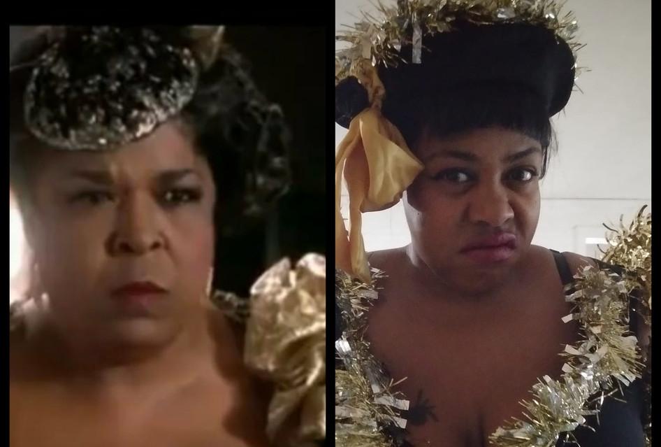 My Halloween Costume: Della Reese from Harlem Nights