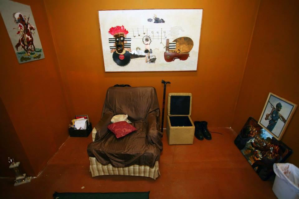 Vietnam Veteran's Living Room