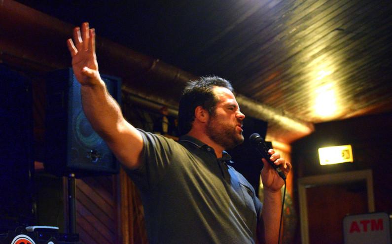 Comedian Mike Sasson