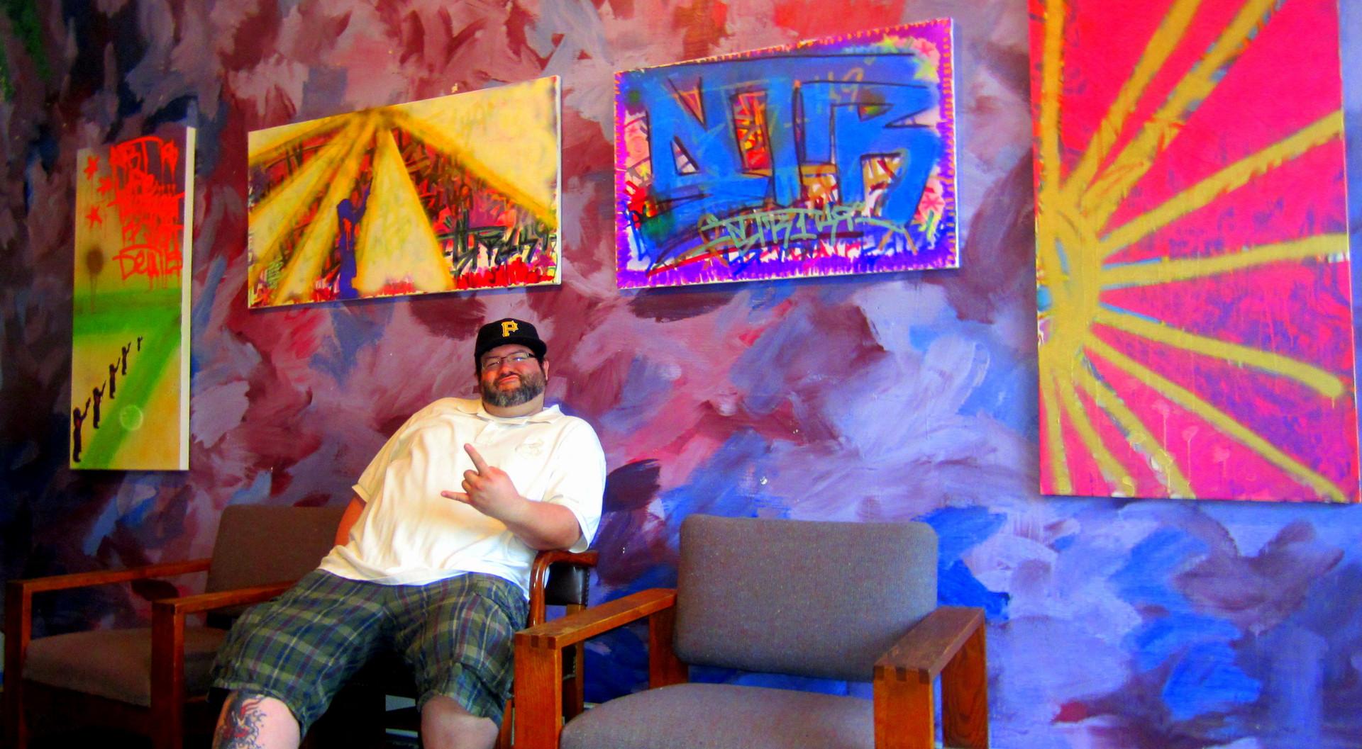 I.C.A.G. Gallery: Artist Burke Fralic