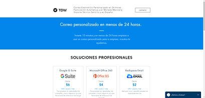 Website for TDW