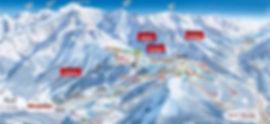 Les Houches Ski Map