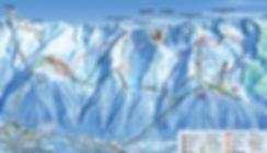 BREVENT/FLÉGÈRE Ski Map