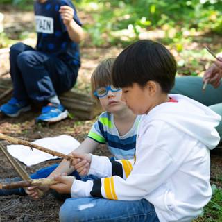 forest school (faire l'école buissonnière)