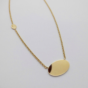 Yellow Gold Necklet £295.00