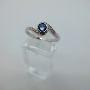 Sapphire and diamond Ring £450.00