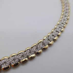 White and Yellow Gold Bracelet £450.00 SOLD