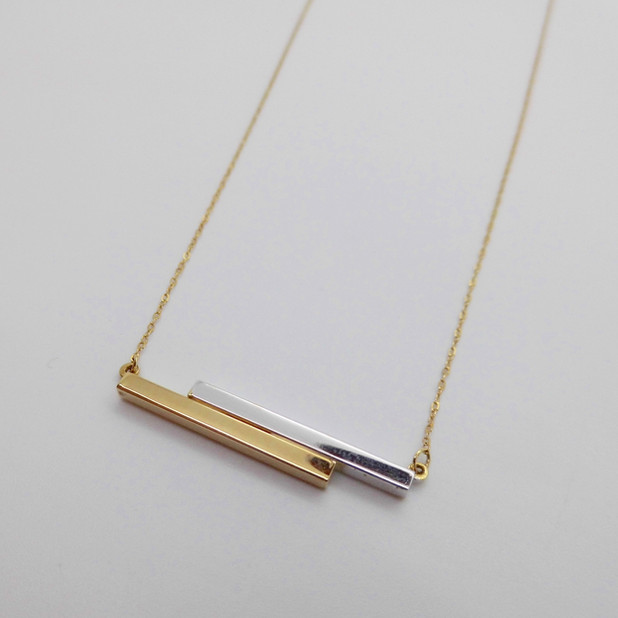 Yellow and White Gold Necklet £99.50