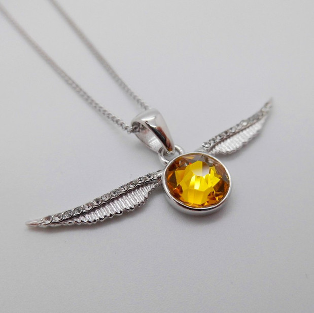 Golden Snitch Crystal Necklet £58.00