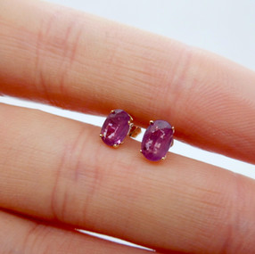 Ruby Studs £65.00 SOLD