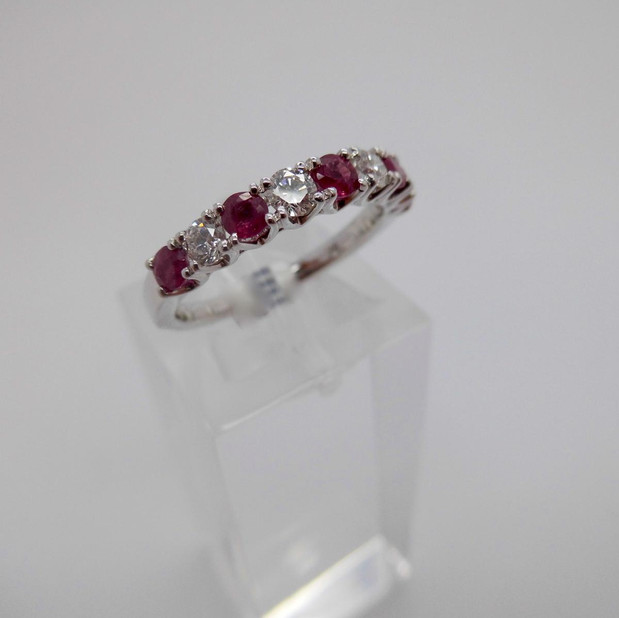 SOLD Ruby and Diamond Ring  £995.00