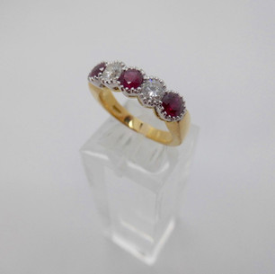 Ruby and Diamond Ring  £1875.00
