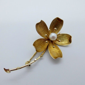 Flower Brooch £215.00