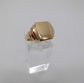 Yellow Gold Signet Ring £175.00