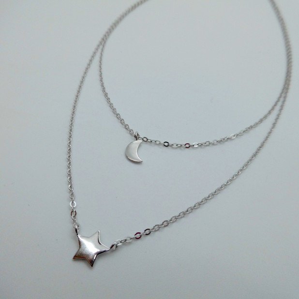 Star and Moon Necklet £24.95
