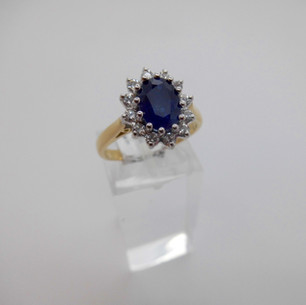 Sapphire and Diamond Ring £1350.00