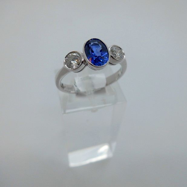 Sapphire and Diamond Ring £2250.00
