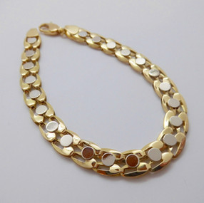 White and yellow gold bracelet £975.00
