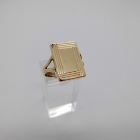 Yellow Gold Signet Ring £245.00