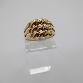 Yellow Gold Ring £135.00 SOLD