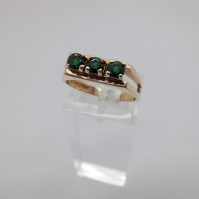 Green Stone Ring £135.00 SOLD