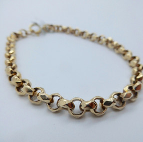 Yellow Gold Bracelet £625.00