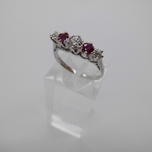 Ruby and Diamond Ring £595.00