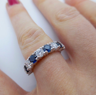 Sapphire and Diamond ring £2575.00