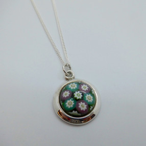 Silver Caithness Glass Pendant £35.90 SOLD