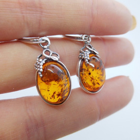 Amber Earrings £29.95 SOLD
