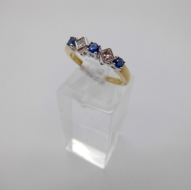 Sapphire and Diamon Ring £750.00