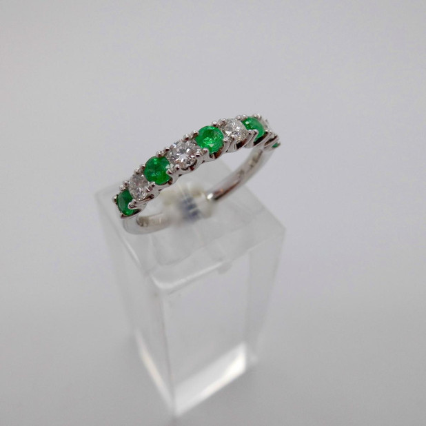 Emerald and Diamond Ring  £950.00