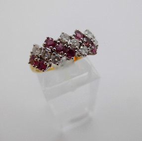 Ruby and Diamond Ring £690.00