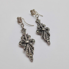 Marcasite Drop Earrings £17.95 SOLD
