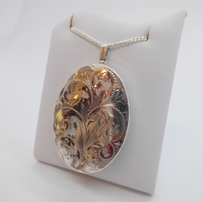 Silver Locket £56.90 SOLD