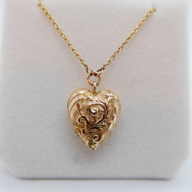 Yellow Gold Heart Pendant £295.00