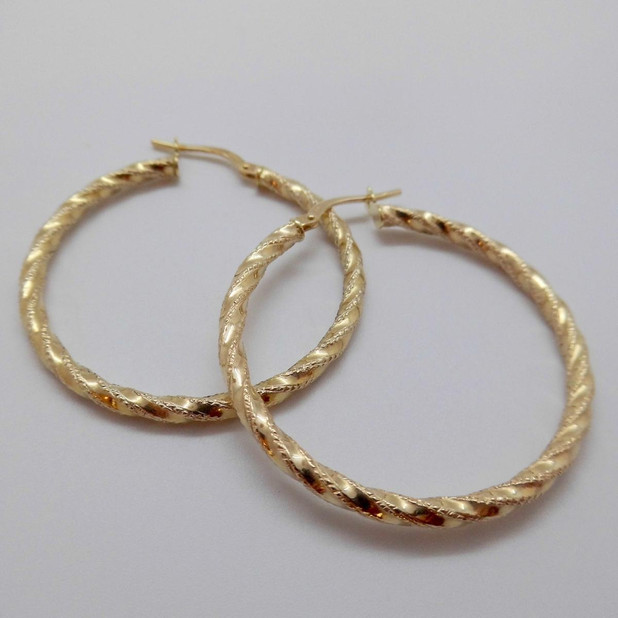 Gold Hoops £125.00