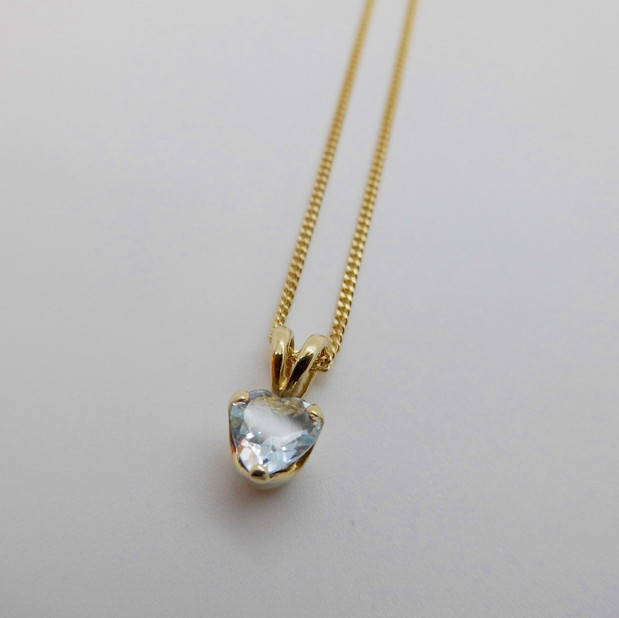 Blue Topaz Pendant £114.95 SOLD