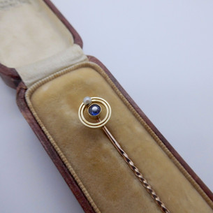 Sapphire and Pearl Brooch £65.00 SOLD