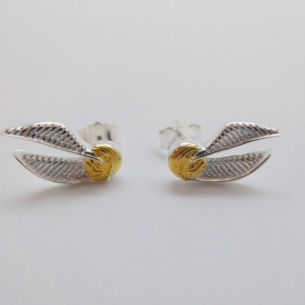 Golden Snitch Studs  £27.50