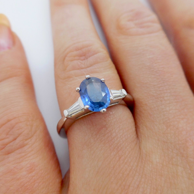 Sapphire and Diamond Ring £1775.00