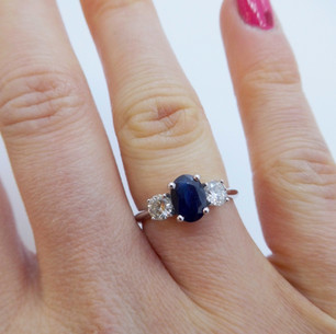 Sapphire and Diamond Ring £1850.00
